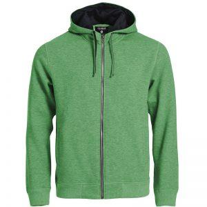 basic hoody zip 2