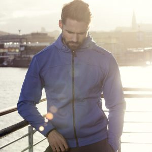 leisure full zip m